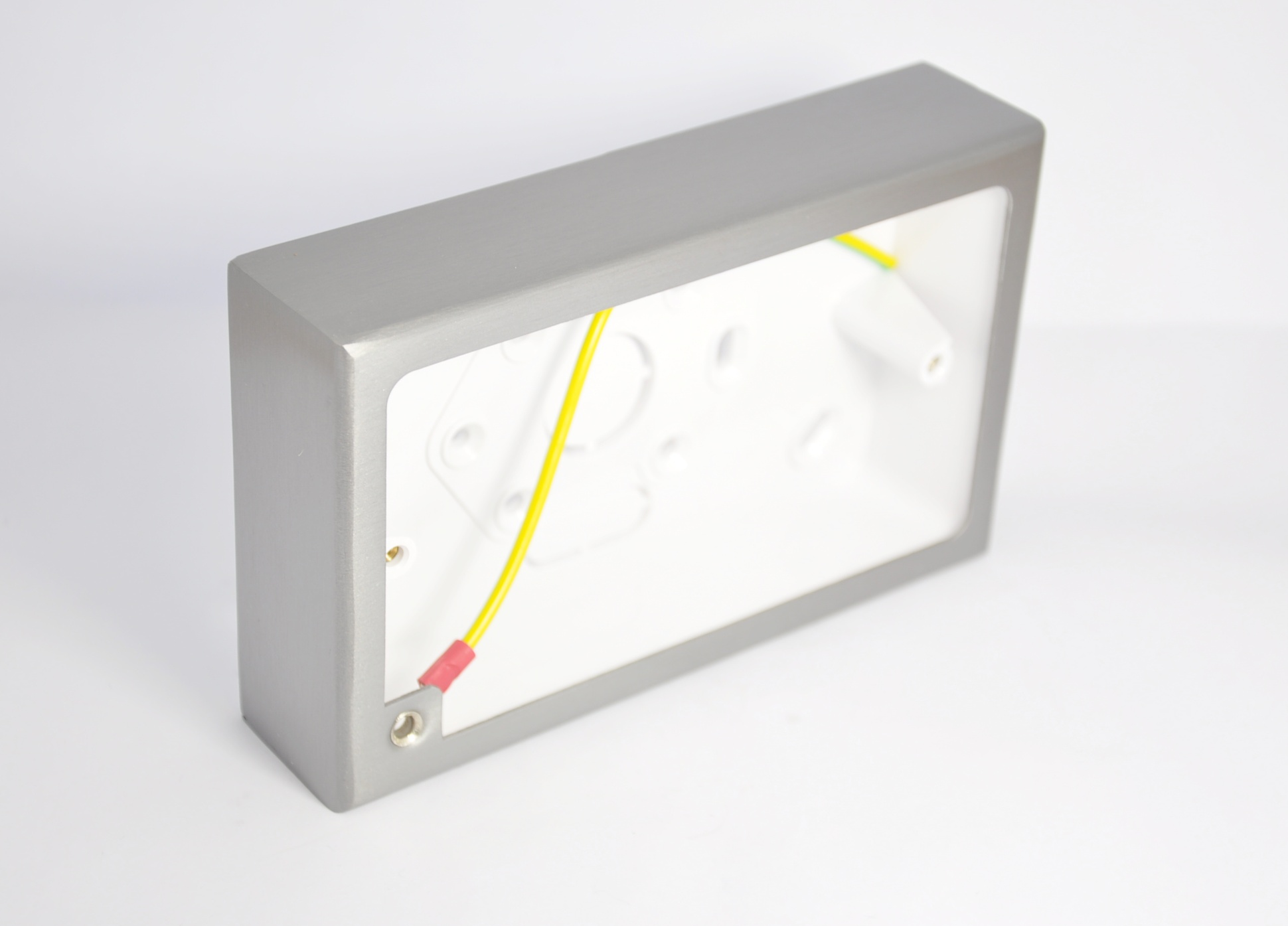 Decorative Electrical Box Cover A Nice I Need Decorating Ideas To Hide Fuse Boxes By Surface Mounted Stainless Steel Pattress With