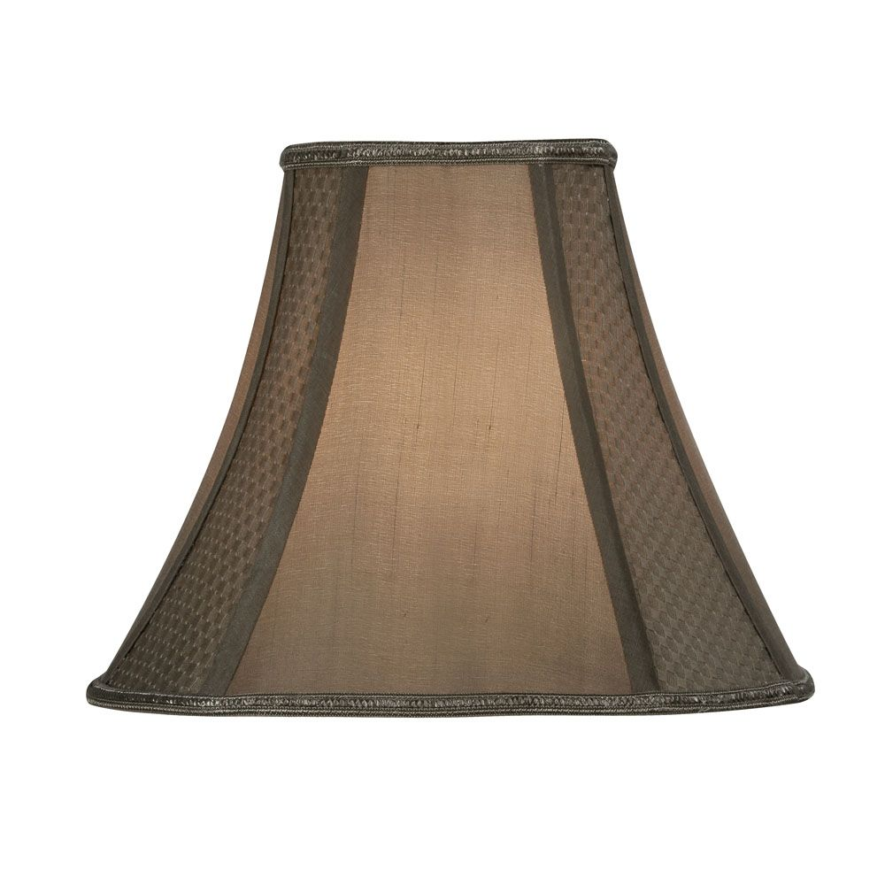 oaks 10 inch square lamp shade in gold s852 10 go. Black Bedroom Furniture Sets. Home Design Ideas