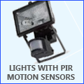 Lights with Inbuilt Motion Sensors