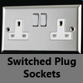 Mirror Chrome - 13 Amp Plug Sockets