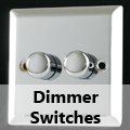 Mirror Chrome - Dimmer Switches