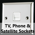 Mirror Chrome - TV, Phone & Satellite Sockets