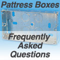 Pattress Back Box FAQ