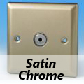 Satin Chrome Remote/Touch Dimmer Switches
