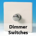 Screwless Premium White - Standard Dimmer Switches