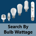Search by Bulb Wattage