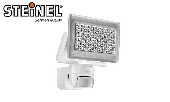 steinel ip44 xled home 170 led 14 8 watts sensor security. Black Bedroom Furniture Sets. Home Design Ideas