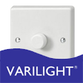 Varilight Standard White Light Switches