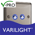 Varilight V-Pro Eclipse/Eclique LED Remote or Touch Home Automation Dimmers ORDER NOW
