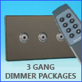 3 Gang Dimmer Packages