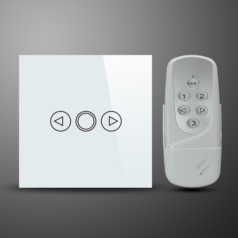 Glass Switch Glass 1 Gang 300w Touch Dimmer Remote Control
