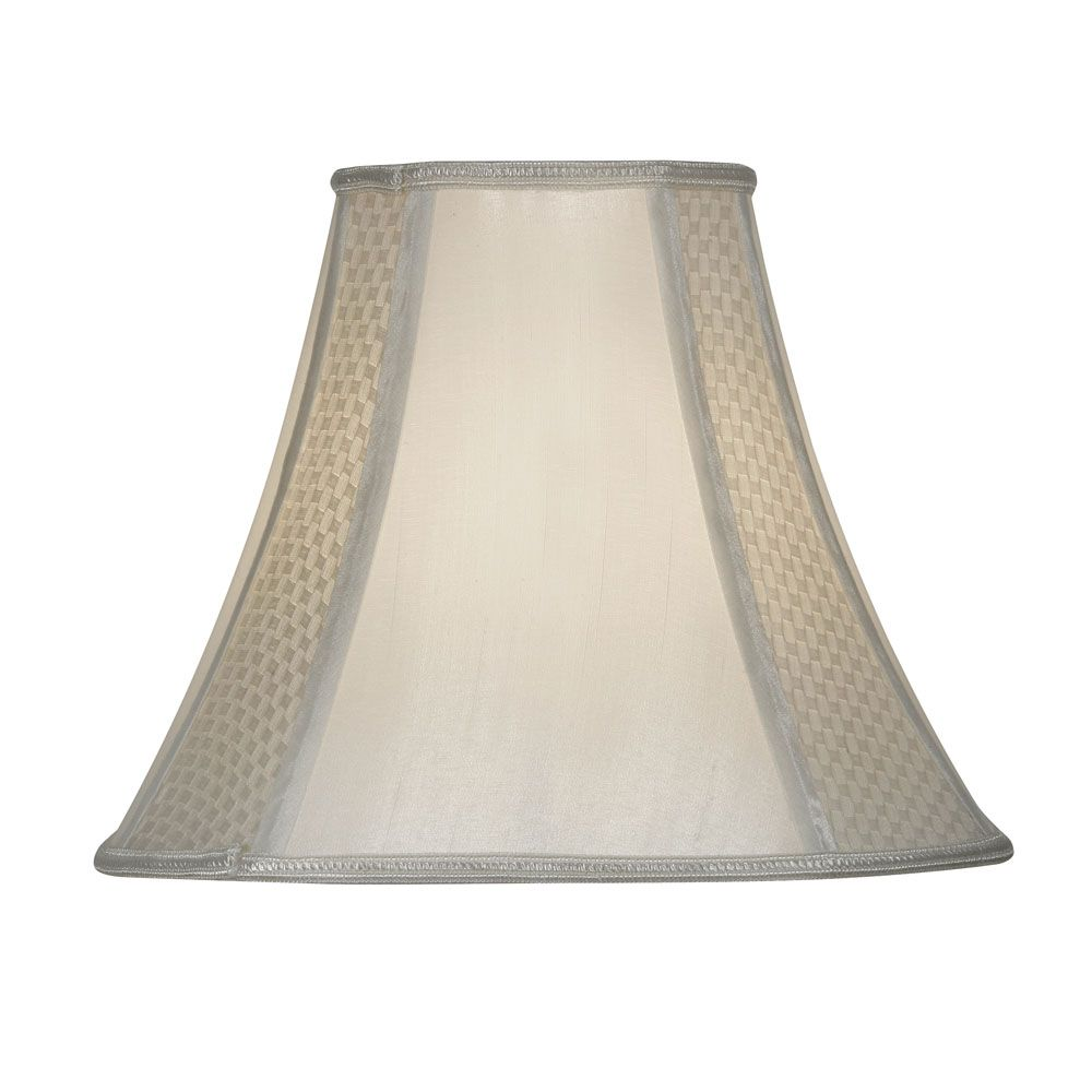 Oaks 12 Inch Square Lamp Shade In Ivory S852 12 Iv