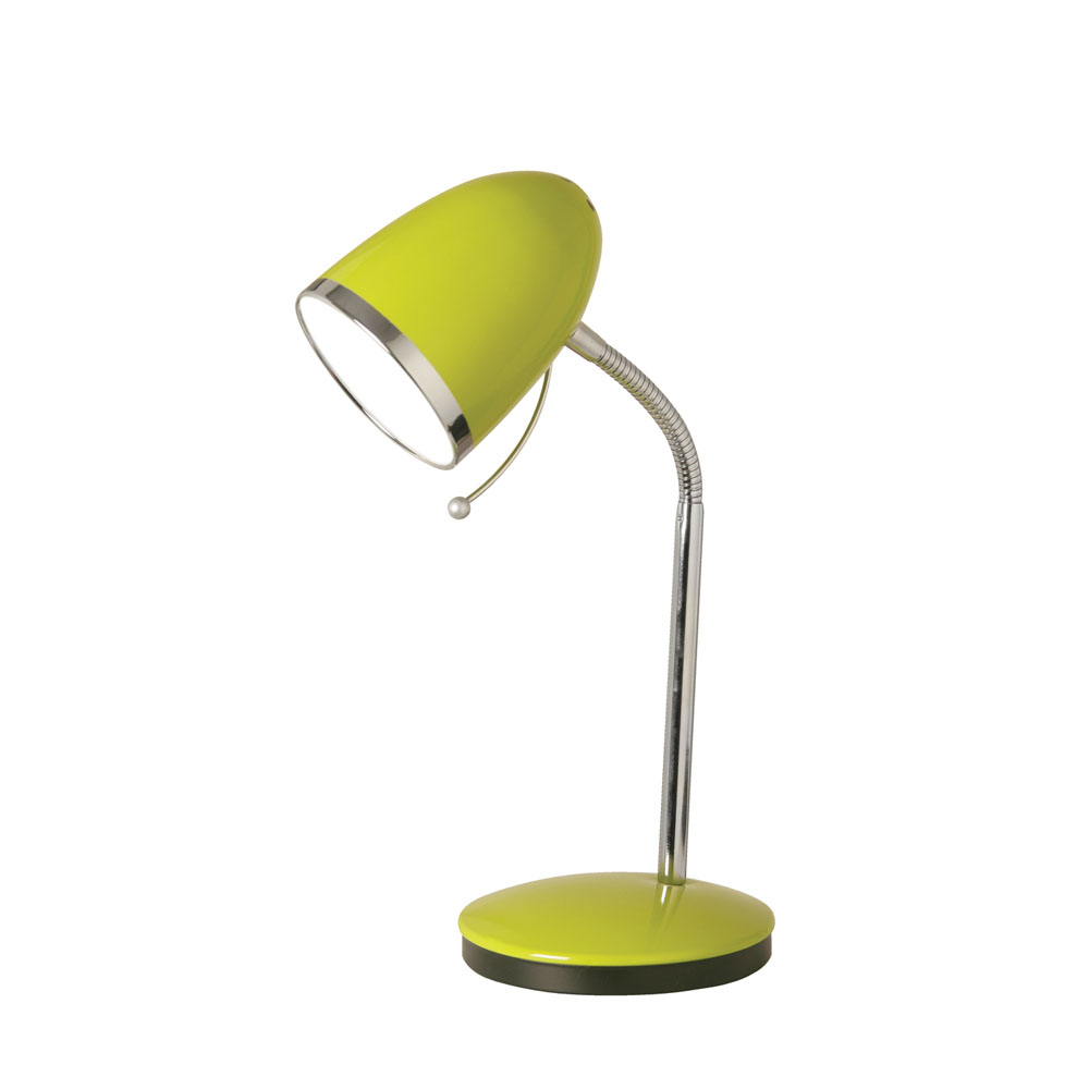 Oaks Light Madison Table Lamp In Lime Green Inline Rocker Switch 2819 Tl Gr