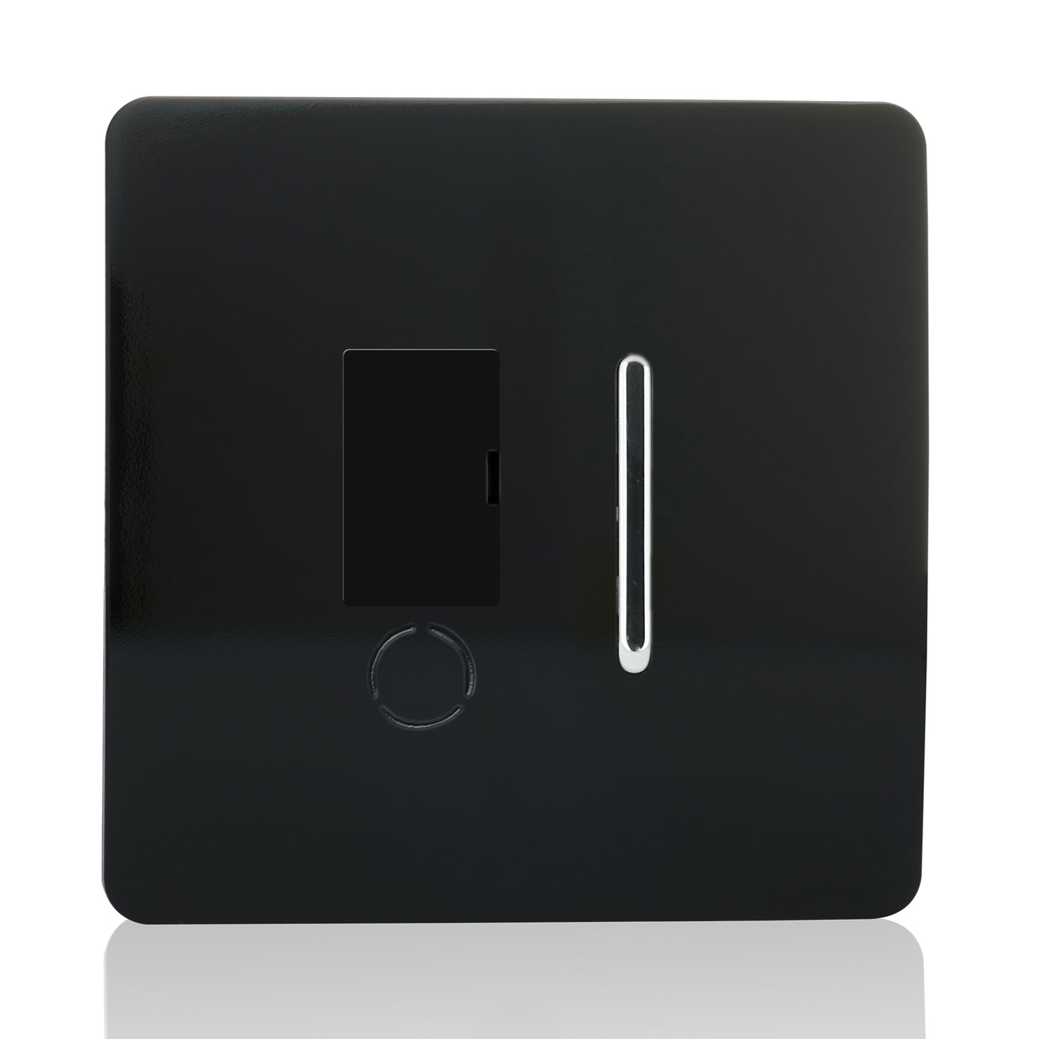 Trendi Artistic Modern Glossy Tactile Fused Spur Switch Piano Black Wiring Light An Error Occurred