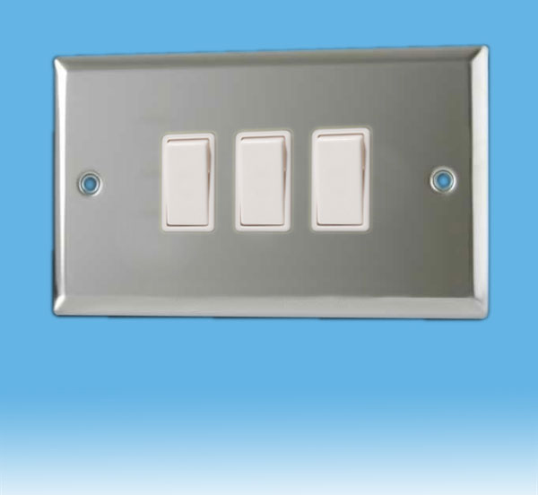 3 Way Chrome Light Switch - Wiring Library • Vanesa.co
