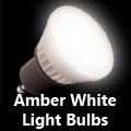 Amber White Light Bulbs