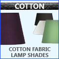 Cotton Fabric Lamp Shades