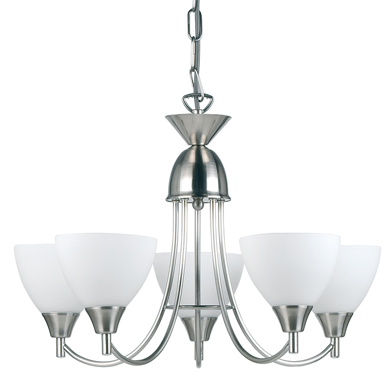Endon lighting satin chrome 5 arm ceiling light fitting 5x60w ses endon lighting satin chrome 5 arm ceiling light fitting 5x60w ses 1805 5sc aloadofball Image collections