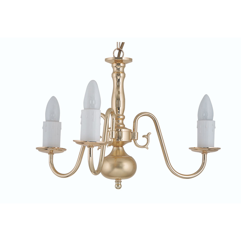Flemish 3x60w ceiling light fitting in polished brass oaks flemish 3x60w ceiling light fitting in polished brass oaks lighting 1177 3 mozeypictures Images