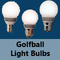 Golf Ball Bulb Fittings