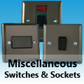 Graphite 21 - Miscellaneous Switches & Sockets