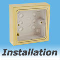 How to Install Light Switches, Choosing Pattress Boxes