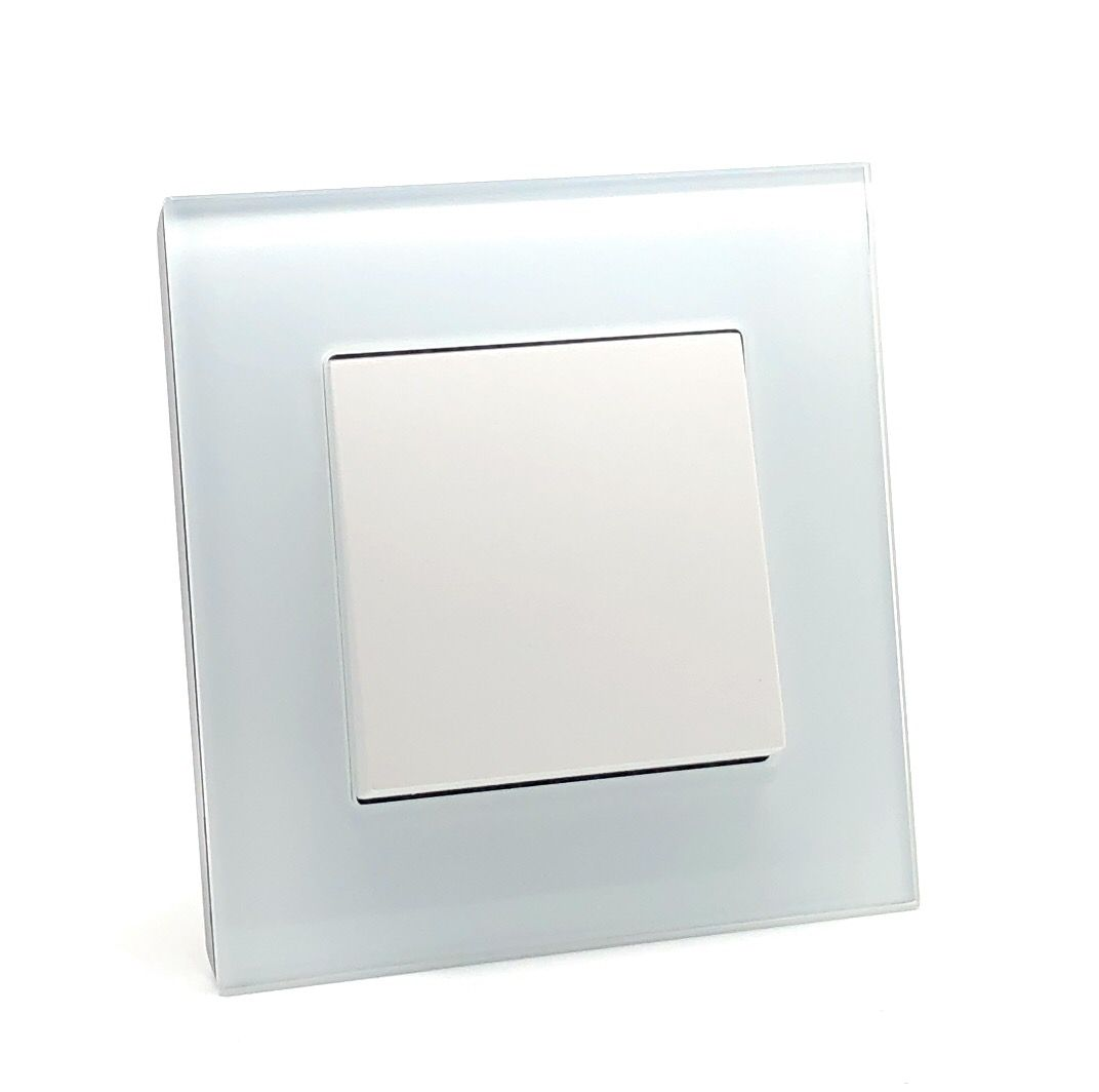 Rocker Light Switch >> Illucio 1 Gang 1 Or 2 Way 10 Amp On Off Rocker Light Switch White 8 Pack
