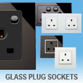 illucio Designer Glass Sockets - Switched & Un-Switched