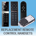 illucio Replacement Remote Control Handsets