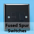 Iridium Black - 13 Amp Fused Spur Switches