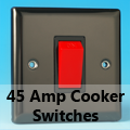 Iridium Black - 45 Amp Cooker Switches