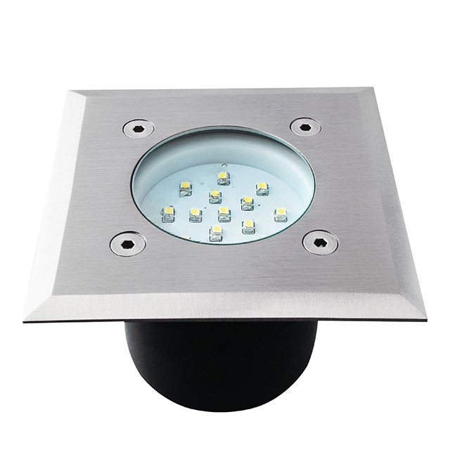 Kanlux gordo led14 smd l led in ground lighting fixture 22051 for Fixture exterieur