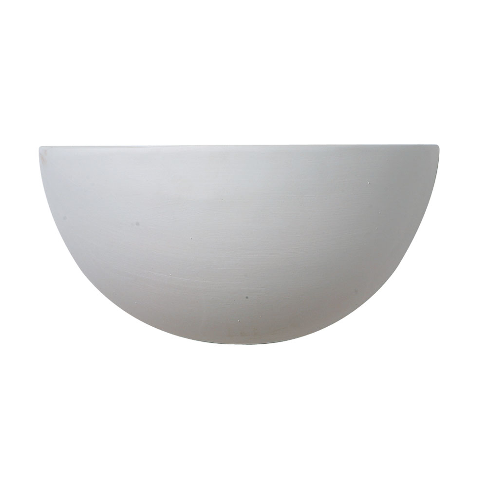 Leonardo 1x60w Wall Light Fitting White Bowl Style Oaks