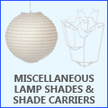 Miscellaneous Shades & Shade Carriers