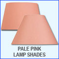 Pale Pink Lamp Shades