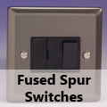 Pewter - 13 Amp Fused Spur Switches