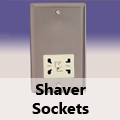 Pewter - Shaver Socket