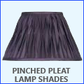 Pinched Pleat Lamp Shades