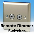Satin Chrome - Remote Dimmer Switches