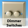 Satin Chrome - Standard Dimmer Switches