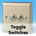 Satin Chrome - Toggle Switches