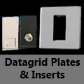Screwless Mirror Chrome - Datagrid Plates & Inserts