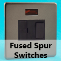 Screwless Pewter - 13 Amp Fused Spur Switches