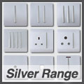 Trendiswitch Silver Range of Switches & Sockets