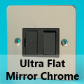 Ultra Flat Mirror Chrome Fused Spur Switches