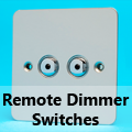 Ultra Flat Mirror Chrome - Remote Dimmer Switches