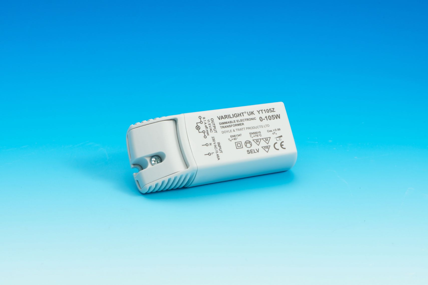 Varilight 105W Dimmable Electronic Transformer with Short Circuit ...