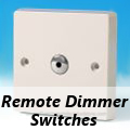 Varilight Standard White Plastic - Remote Dimmer Switches
