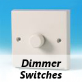 Varilight White - Standard Dimmer Switches