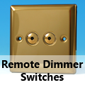 Victorian Brass - Remote Dimmer Switches